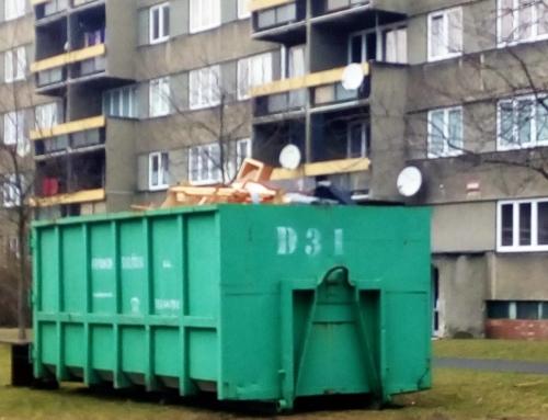 Sběr velkoobjemového odpadu 16.11.2019