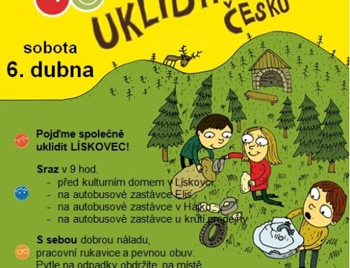 Ukliďme Česko, ukliďme Lískovec!