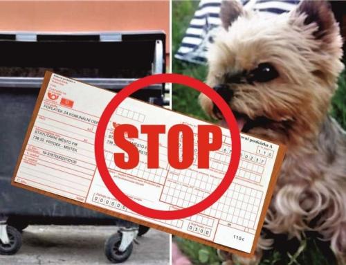Poplatky za odpad a psy v roce 2021